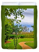 Path To Marshes Duvet Cover