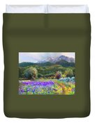 Path To Nowhere Duvet Cover by Talya Johnson