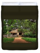 Path To The Barn Duvet Cover