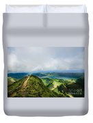 Path To The Lakes Duvet Cover