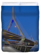 Path To The Leonard P. Zakim Bridge Duvet Cover