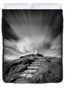 Path To Twr Mawr Lighthouse Duvet Cover