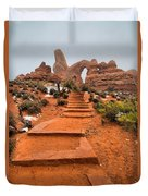 Pathway To Portals Duvet Cover