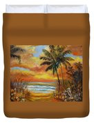 Pathway To The Beach 11 Duvet Cover