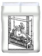 Patient And Nurse, 1646 Duvet Cover