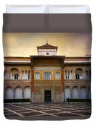 Patio De La Montaria II Duvet Cover