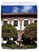 Patio Del Museo Cordobes De Bellas Duvet Cover