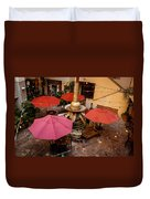 Patio Unbrellas Duvet Cover