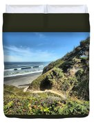Patrick's Point Duvet Cover by Adam Jewell