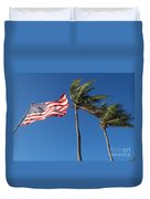 Patriot Keys Duvet Cover by Carey Chen