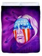 Patriot Duvet Cover by Robert Martinez