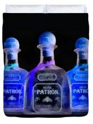 Patron Tequila Black Light Duvet Cover