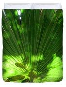 Green Plant Pattern Duvet Cover