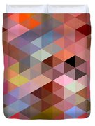 Pattern Of Triangle Duvet Cover