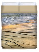 Patterns At Yellowstone #1 Duvet Cover