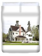 Patterson House Ardenwood Historic Farm Duvet Cover