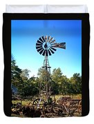 Patterson Windmill Duvet Cover by Marty Koch