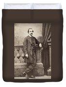 Paul Duchaillu (1831-1903) Duvet Cover