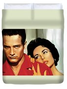 Paul Newman Artwork 3 Duvet Cover