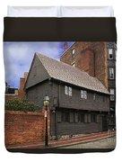 Paul Revere House Duvet Cover by David Davis