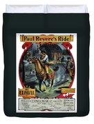 Paul Reveres Ride Duvet Cover