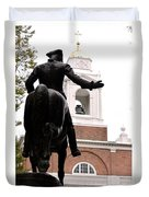 Paul Revere's Ride Duvet Cover