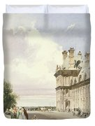 Pavilion De Flore, Tuileries, Paris Duvet Cover