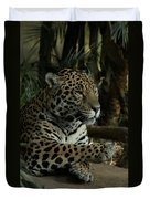 Paws Of A Jaguar Duvet Cover