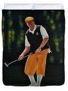 Payne Stewart Duvet Cover by Paul Meijering