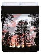 Payson Pines Sunset Duvet Cover