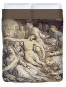 The Lamentation Over The Dead Duvet Cover
