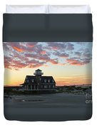 Oregon Inlet Life Saving Station 2693 Duvet Cover