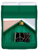 Peace Barn Duvet Cover