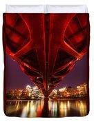 Peace Bridge 2 Duvet Cover