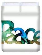 Peace Full 13 Duvet Cover