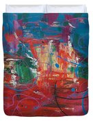 Peace In Chaos Duvet Cover