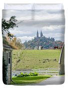 Peace In The Country  Duvet Cover