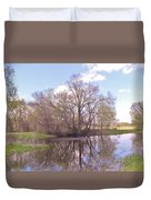 Peace In The Woods Duvet Cover