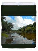 Peace River 2 Duvet Cover
