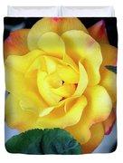 Peace Rose Palm Springs Duvet Cover