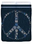 Peace Symbol Design - Bld01t01   Duvet Cover
