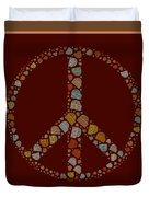Peace Symbol Design - S05d Duvet Cover
