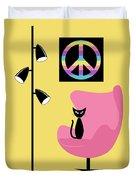 Peace Symbol Duvet Cover