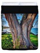Peace Tree Duvet Cover
