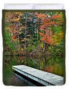 Peaceful Autumn Day Duvet Cover