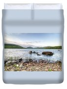 Peaceful Early Morning At Eagle Lake Duvet Cover