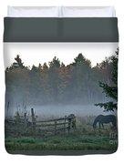 Peaceful Farm Scene Duvet Cover