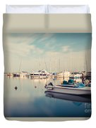 Peaceful Harbour Duvet Cover