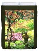 Peaceful Japanese Garden Duvet Cover