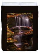 Peaceful Little Falls Duvet Cover